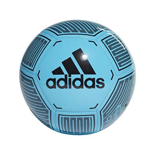 Starlancer VI Soccer Ball, Bright Cyan/Black/White, 3