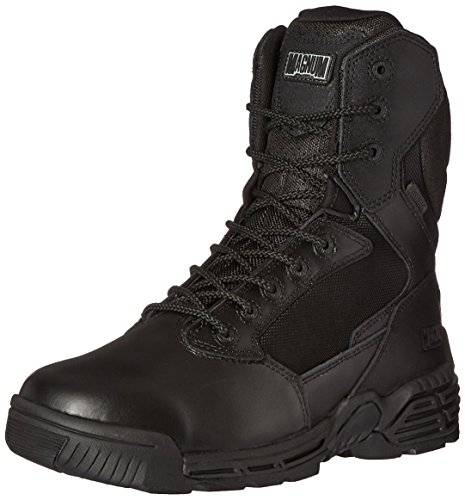 Magnum Men's Stealth Force 8.0 Side Zip Waterproof I-Shield Military & Tactical Boot, Black, 10 D US