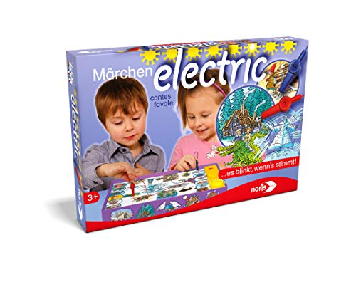 Noris 606018040 606018040-Märchen Electric, Kinderspiel