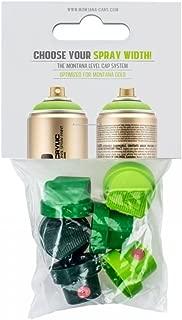 Montana Cans MXGCAPSET-2 Montana Gold 6 Green Capset Spray Paint Cap