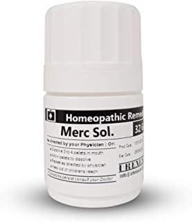 Homeopathic Remedy/Medicine - MERC sol. 200-32 Grams
