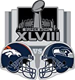Super Bowl XLVIII Broncos vs. Seahawks Pin at Amazon