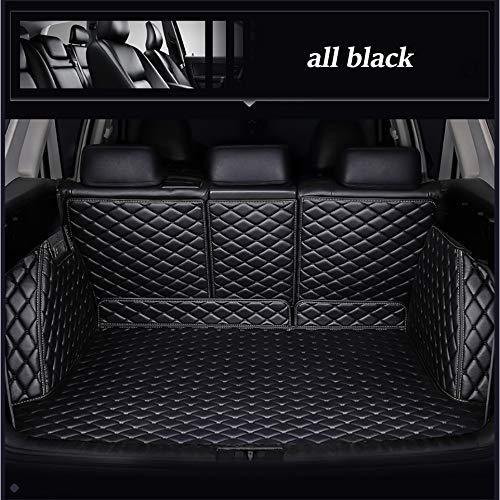 XHULIWQ Leather Car Trunk Mat, For Citroen C5 C4 DS5 Grand Picasso 2010-2018, Custom Boot Mat Interior Car Styling