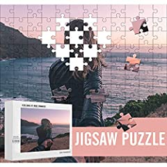 SAFE MATERIALS: Personalized puzzles with photos are made of natural wood, safe and environmentally friendly. There are 7 specifications for you to choose. PERSONALIZED GIFTS: Custom picture puzzles make perfect birthday gifts, anniversary gifts, wed...