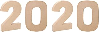 12 inch paper mache numbers
