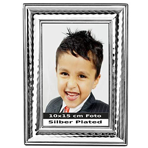 silberkanne Occasions Direct - Cornice portafoto placcata Argento, 10 x 15 cm