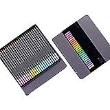 Lapices Colores ZWRY 12/24 lápices de colores pastel suaves lápiz no tóxico lapis de cor lápices de colores para escolares 24PastelSquare-2