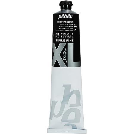 Pébéo - Olio fine XL 200 ML - Pittura ad Olio - Olio Nero Avorio - Pittura ad Olio Pébéo - Nero Avorio Imitazione Avorio 200 ml