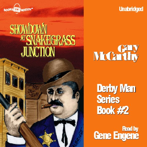 Showdown at Snakegrass Junction audiobook cover art