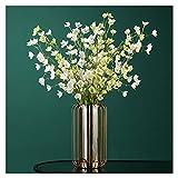 flor falsa Simulación flor lirio del valle ramo de escritorio dormitorio de escritorio gabinete de televisión decoración decoración falsa flores bodas fotografía fotos decoración de flores falsas