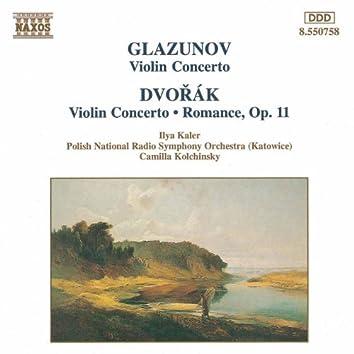 GLAZUNOV / DVORAK: Violin Concertos in A Minor