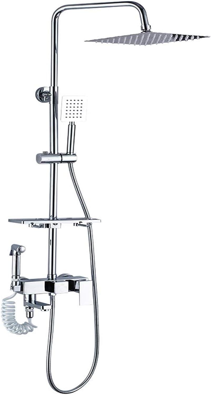 LXFMD Dusche gesetzt nach Hause Kupfer Dusche Duschkopf Badezimmer Bad Wein Bad Artefakt