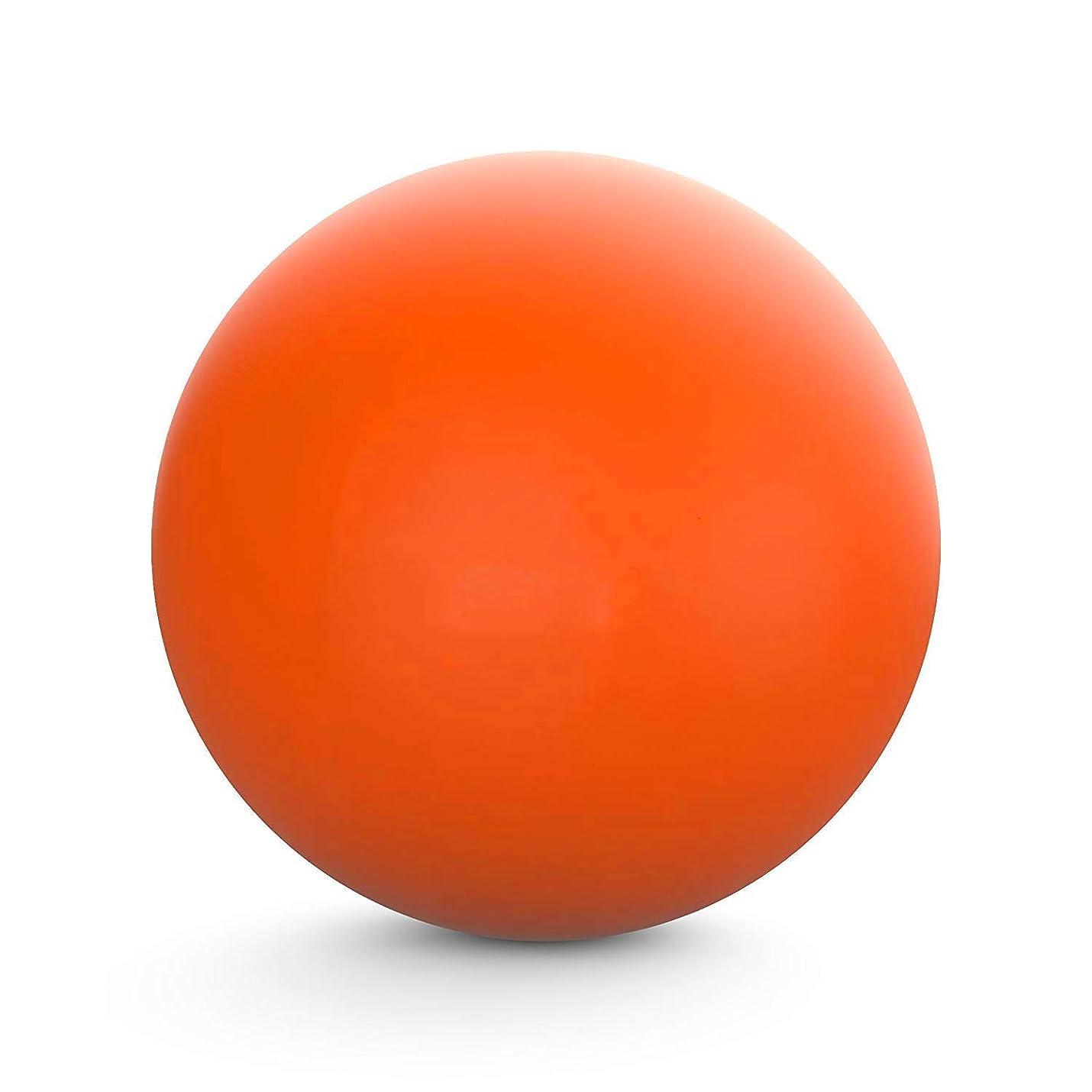 上知性ポークマッサージボール セット ラクロスボール ストレッチボール トリガーポイント 筋膜リリース 首?腰?太もも?ふくらはぎ?足裏ツボ押し オレ