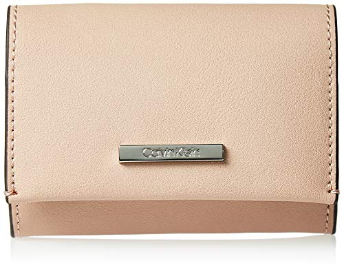 Calvin Klein - Extended Card Holder, Tarjeteros Mujer, Rosa (Nude), 1x1x1 cm (W x H L)
