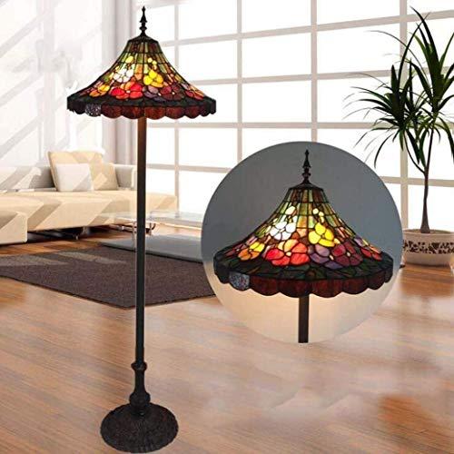 Dekorative Stehlampe Magische Beleuchtungsoptionen Moderne Stehlampe Raumleuchte Lampe 50,8 cm Tiffany-Stil Stehlampe Europäische Kreative Buntglas-Standbeleuchtung Wohnzimmer Hotel St Suit Fo