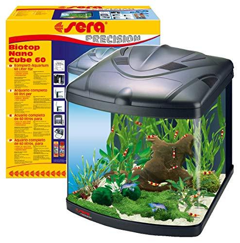 Sera 31102Mondi Biotop Nano Cube 60un 60L Agua dulce Acuario Completo con pl de T5iluminación y Filtración.