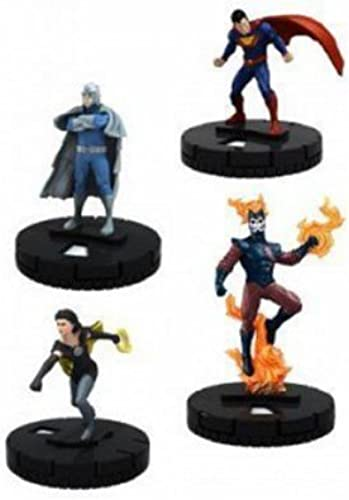 DC HEROCLIX  JUSTICE LEAGUE TRINITY FAST FORCES