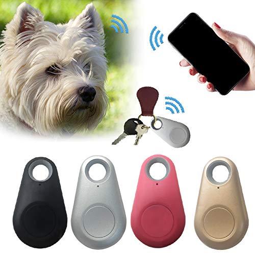 AMOYER 1pc Haustiere Mini-GPS-GPS-schlüssel-sucher-verzeichnis-drahtloses Anti Verloren Alarm Sensor Gerät Für Haustier Hund Katze Schlüssel-mappen-Beutel Für Kinder Trackers Finder Schwarz