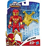 Hasbro Playskool - Heroes Mega Mighties Avengers Mini Marvel Super Hero Adventures-Iron Spider (Figura de acción de 12,5 cm), Multicolor, E6259ES0