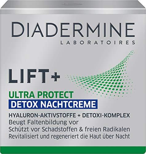 DIADERMINE LIFT+ Nachtpflege ULTRA PROTECT Detox Nachtcreme, 1er Pack (1 x 50 ml)