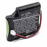 vhbw NiMHbatterie 2000mAh (7.2V) pour dispositif para-médical électrostimulateur musculaire Globus Premium 200, remplace BATT/110466, 120466.