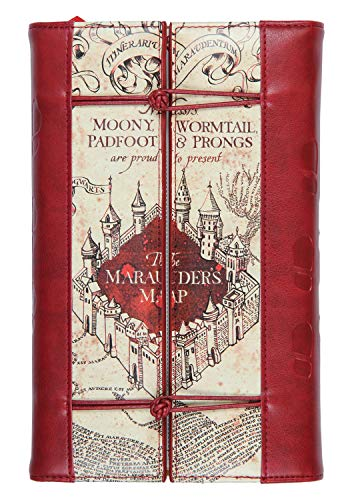 Harry Potter Tagebuch, Karte des Rumtreibers, wiederverwendbar, nachfüllbar, Kunstleder, Tagebuch