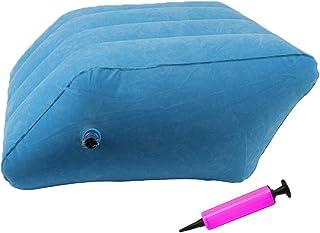 Outgeek Leg Pillow Portable Inflatable Leg Rest Pillow Leg Elevation Pillow Knee Pillow