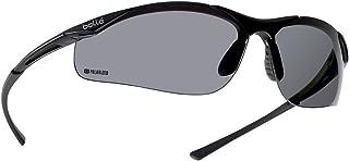 c577e85b81 Bollé Safety Contour gafas de seguridad, marco de color gris oscuro, lentes  de color