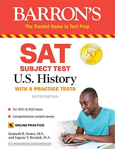 SAT Subject Test U.S. History: with 6 practice tests (Barron\'s SAT Subject Test U.S. History) (English Edition)
