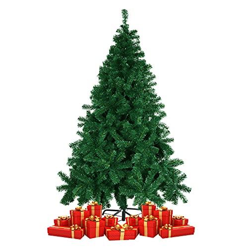 albero di natale bianco 240 cm Derogras Albero di Natale 180 CM