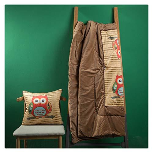 YOUCAI Bequemes Kissen für Stuhl & Bank Gepolstertes Sitzkissen Stuhl für Ihre Esszimmer Stühle und Bänke Sitzpolster in Anthrazit,23,45 * 45CM