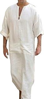 buy popular c4357 16ac8 Amazon.it: a. caftano - Bianco / Uomo: Abbigliamento