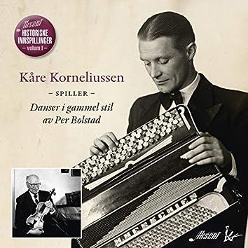 Kåre Korneliussen spiller Danser i gammel stil av Per Bolstad