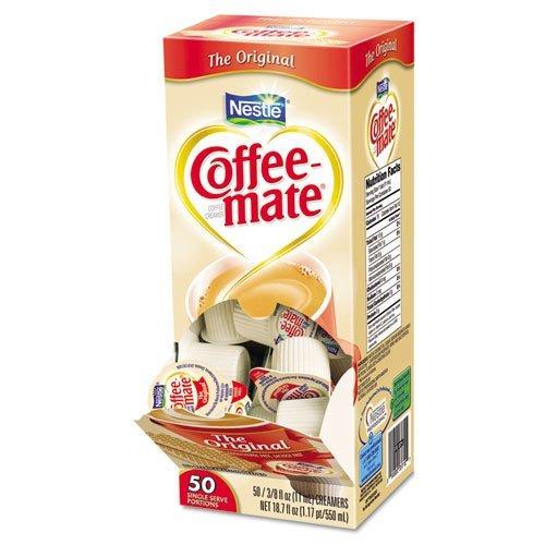 Original Creamer, .375oz, 50/Box, Sold as 1Box, 6Pack, Total 6Box by coffee-mate