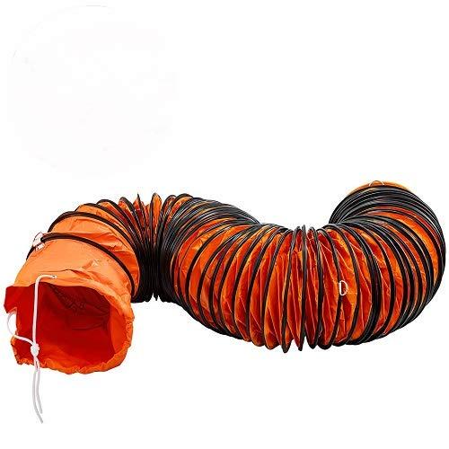 OldFe Lufttransportschlauch Warmluftschlauch PVC Länge 7,6 M, Lufttransportschlauch Durchmesser 305MM, Belüftungsschlauch
