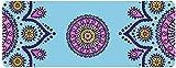 ZXL Colchoneta de Entrenamiento Colchoneta de Yoga/Colchoneta de Ejercicios Lámina Delgada Impresión de Goma Natural Antideslizante Colchoneta de Viaje Plegable Portátil 183 X 68 cm Colchoneta de Y