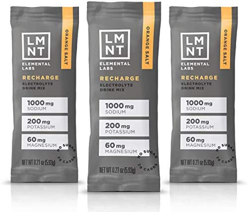 LMNT Recharge Electrolyte Hydration Powder Formulated by Robb Wolf and Ketogains Keto Paleo product image