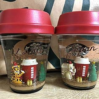 スターバックス スノードーム 日本 韓国セット スタバ 日韓 Starbucks