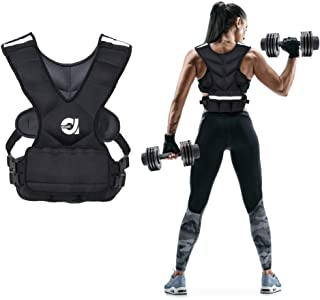 Sport Weighted Vest 8 LBS/16 LBS for Men & Women, Workout Equipment Body Weight Vest with Pocket, Reflective Stripe and Adjustable Strap, Weighted Body Vest for Training, Jogging, Cardio