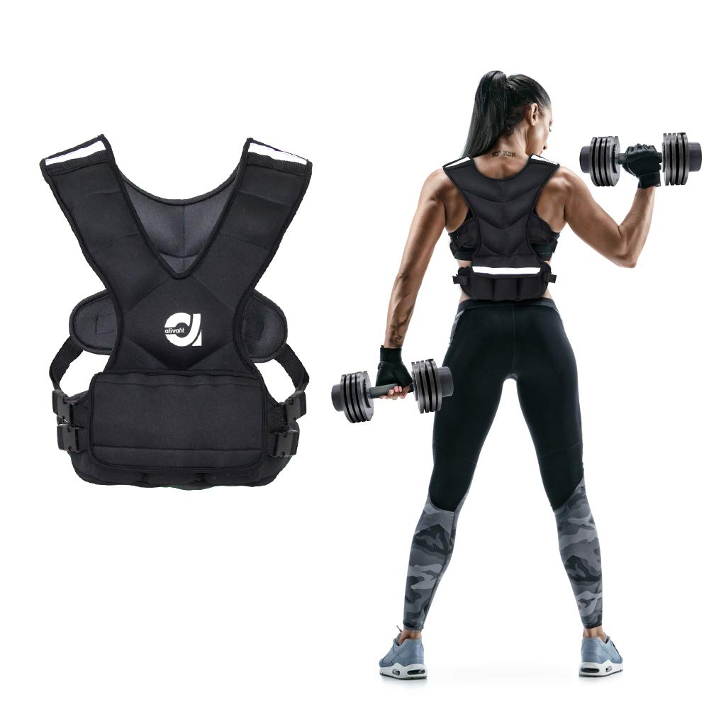 ATIVAFIT Weighted Equipment Reflective Adjustable
