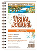 "Strathmore Visual Journal Spiral Bound 5.5""X8""-100# Drawing (並行輸入品)"