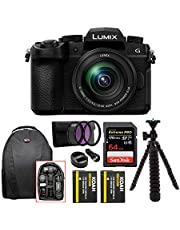 Panasonic Lumix G DC-G95 with 12-60mm Lens, 20.3 Megapixels,4K Photo, Wi-Fi and Bluetooth, Black