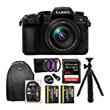 Panasonic LUMIX DC-G95 Mirrorless Digital Camera with 12-60mm Lens Bundle Includes 64GB 170 MB/s Extreme Pro SD Card, Dual Battery & Charger kit, Backpack, 3-pc Filter kit, 12' Spider Tripod