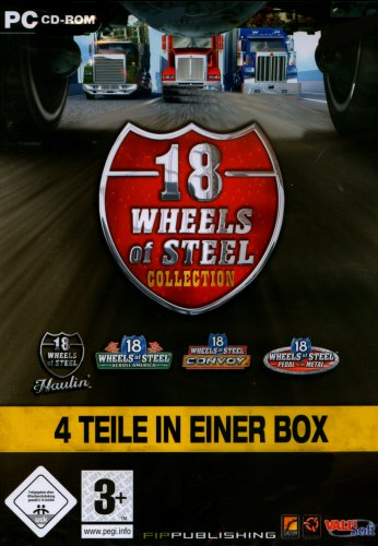 18 Wheels of Steel - 4 Teile in einer Box
