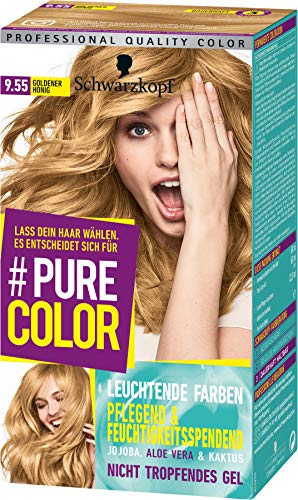 Schwarzkopf Pure Color Coloration 9.55 Goldener Honig, 1er Pack (1 x 143 ml)