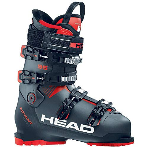 HEAD Herren Advant Edge 95 Skischuhe, Anthracite/Black-Red, 270