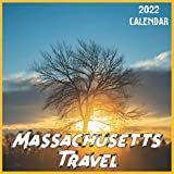 Massachusetts Travel Calendar 2022: 2021-2022 Massachusetts Weekly & Monthly Planner | 2-Year Pocket Calendar | 19 Months | Organizer | Agenda | Appointment | For Massachusetts Lovers