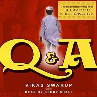 Slumdog Millionaire (a.k.a. Q&A) audiobook cover art