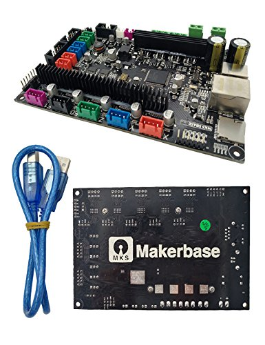 3D Drucker MKS SBASE V1.3 32bit Control Board Using DRV8825 Stepper Supprting 32bit 100M Cortex-MS MCU-LPC1768 Based On ARM Platform Main Board Open firmware Smoothieware