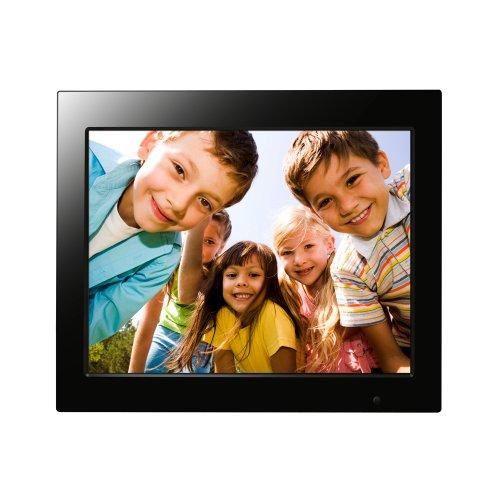 FileMate Joy Series 15-Inch Digital Photo Frame with Alarm and Calendar 3FMPF215BK15-R (Black)